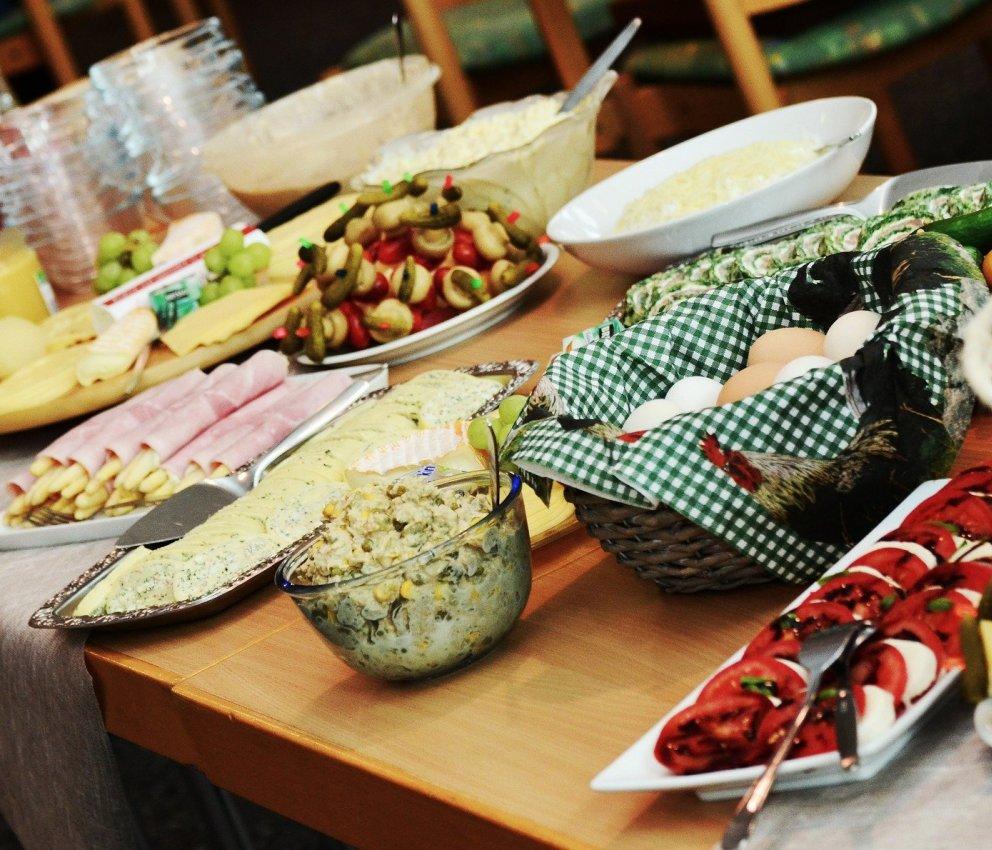 Prodotti alberghieri per il buffet